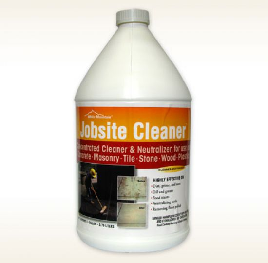 Wm jobsite cleaner enhance outdoor supply inc for Non toxic concrete cleaner